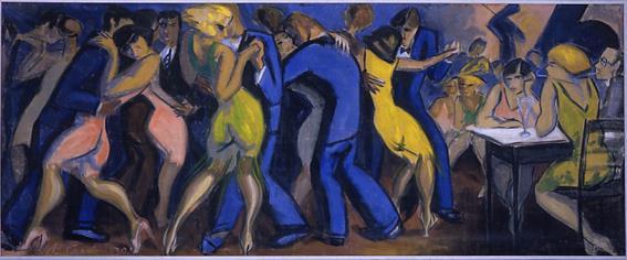 Yrjö Saarinen, Dance à Paris, 1930, Musée d'Art de Hyvinkää