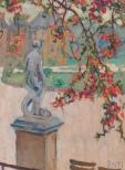 Anna Snellman: Jardin du Luxembourg, 1913. Kemin taidemuseo. Kuva: HAM/Hanna Kukorelli.